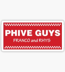 Phive Guys Franco and Rhys 2 Sticker