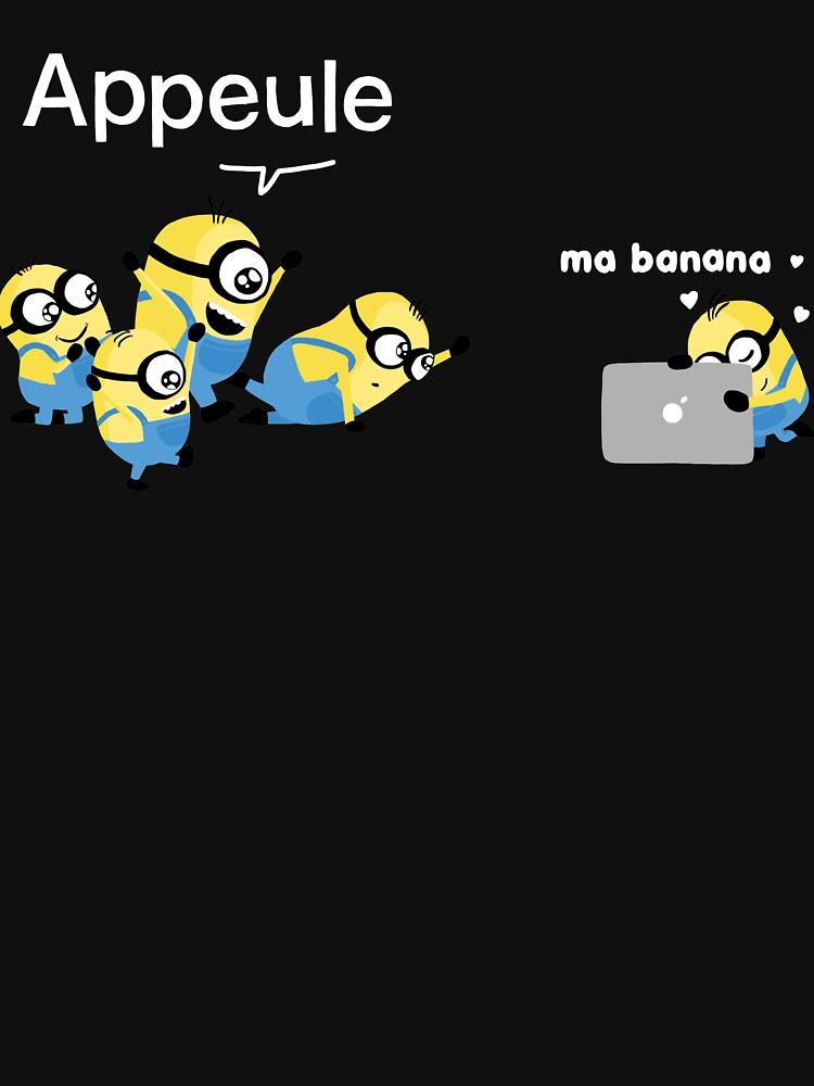 «Appeule vs. Banana» par clairemilliet