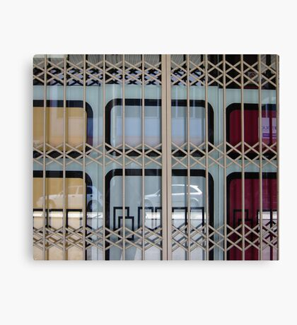 Gated Window Canvas Print