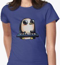 Camiseta entallada para mujer Gunter con teclado