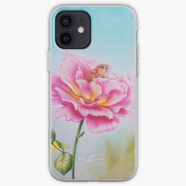 Mouse by Maria Tiqwah iPhone Soft Case