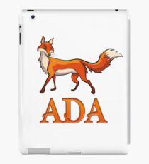 Ada Fox iPad Case/Skin