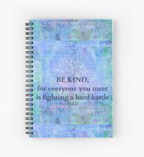 Cuaderno de espiral Plato Kindness Quote