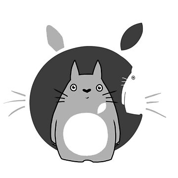 «Totoro-Apple» par clairemilliet