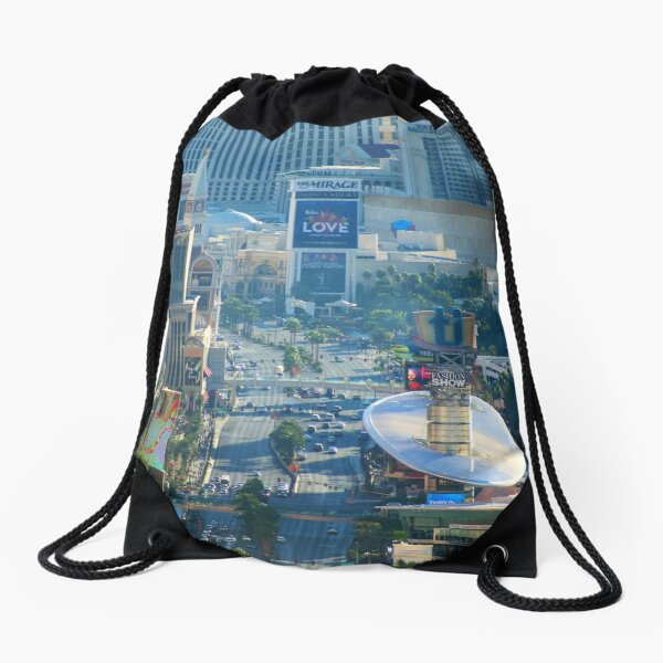 The Strip  Drawstring Bag