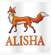 Alisha Fox Poster