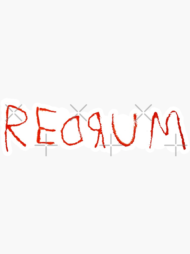 Redrum - the Shining sticker by WolfsMelody