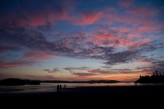 Sunset in Tofino by Brendan Schoon