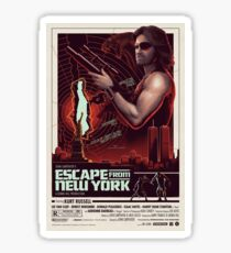 Escape from New York Sticker