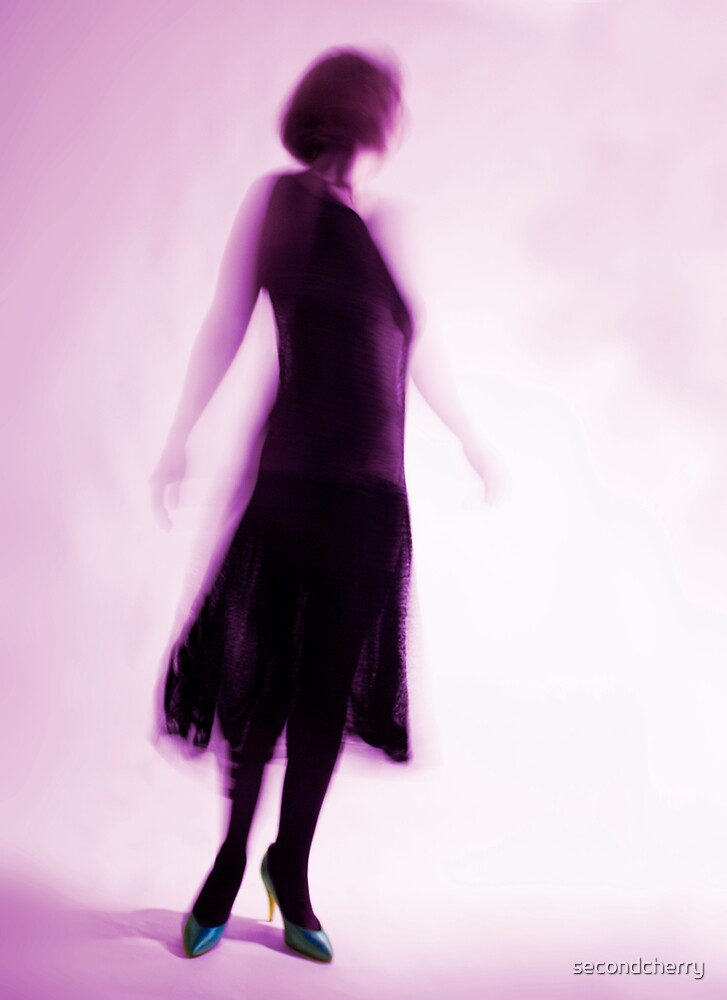 Dancer in violet by secondcherry