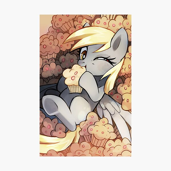 Derpy Hooves Photographic Print