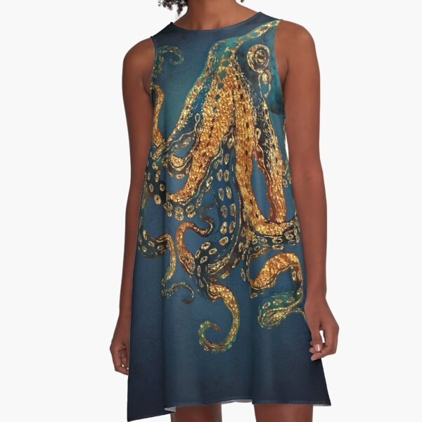 Underwater Dream IV A-Line Dress