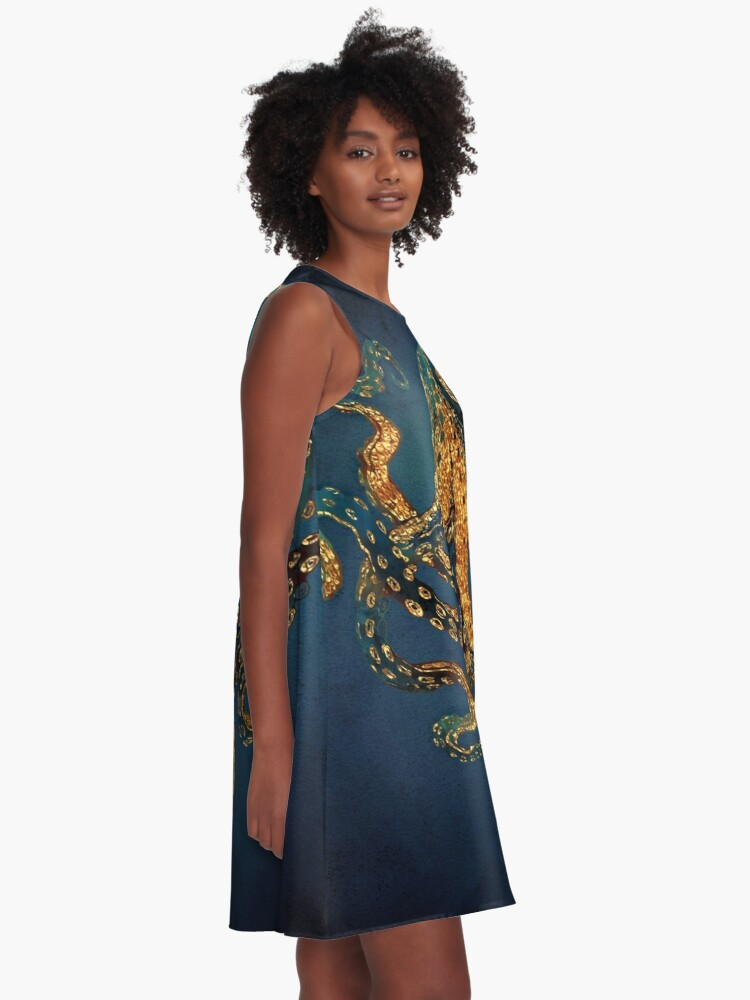 Alternate view of Underwater Dream IV A-Line Dress