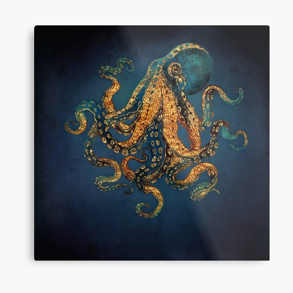 Underwater Dream IV Metal Print