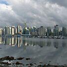 Vancouver Skyline by Brendan Schoon