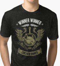 WINNER WINNER CHICKEN DINNER Tri-blend T-Shirt