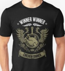 WINNER WINNER CHICKEN ABENDESSEN Slim Fit T-Shirt
