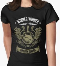 WINNER WINNER CHICKEN DINNER Women's Fitted T-Shirt