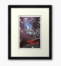 Escape from New York poster Framed Print
