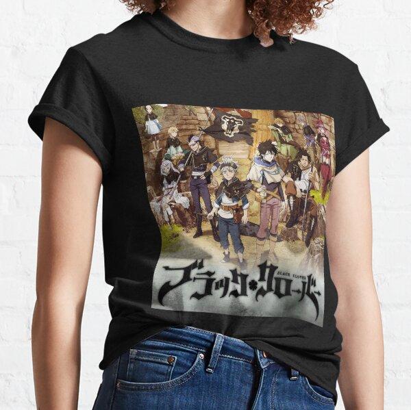 Trèfle noir T-shirt classique