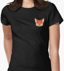 Triangle Fox Women's Fitted T-Shirt