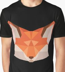 Triangle Fox Graphic T-Shirt
