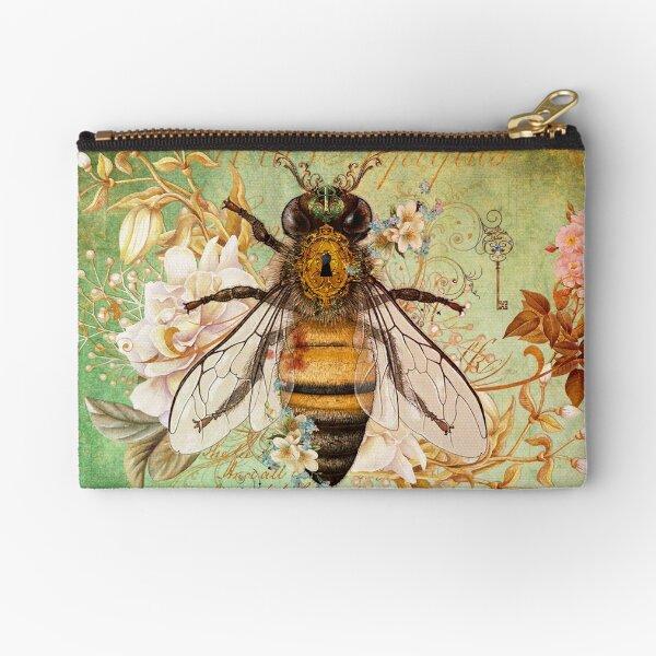 Honey Bee True Zipper Pouch
