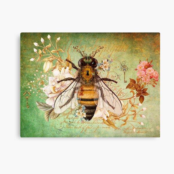 Honey Bee True Canvas Print