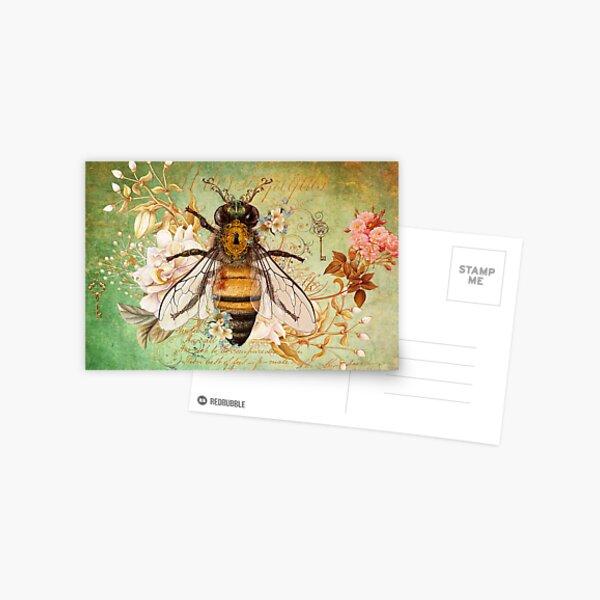 Honey Bee True Postcard
