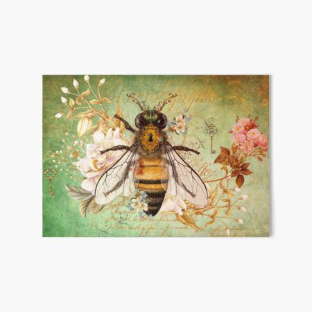 Honey Bee True Art Board Print