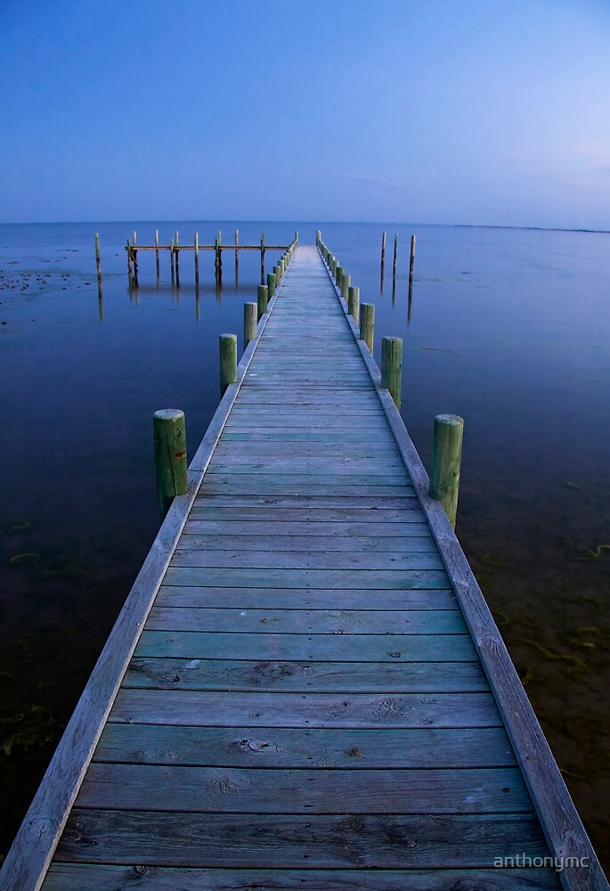 Jetty Dusk by anthonymc