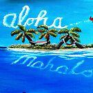 Aloha & Mahalo by WhiteDove Studio kj gordon