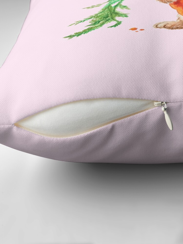 Alternate view of Bunny by Maria Tiqwah Floor Pillow