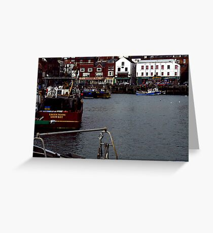 The Harbour Scarborough Greeting Card