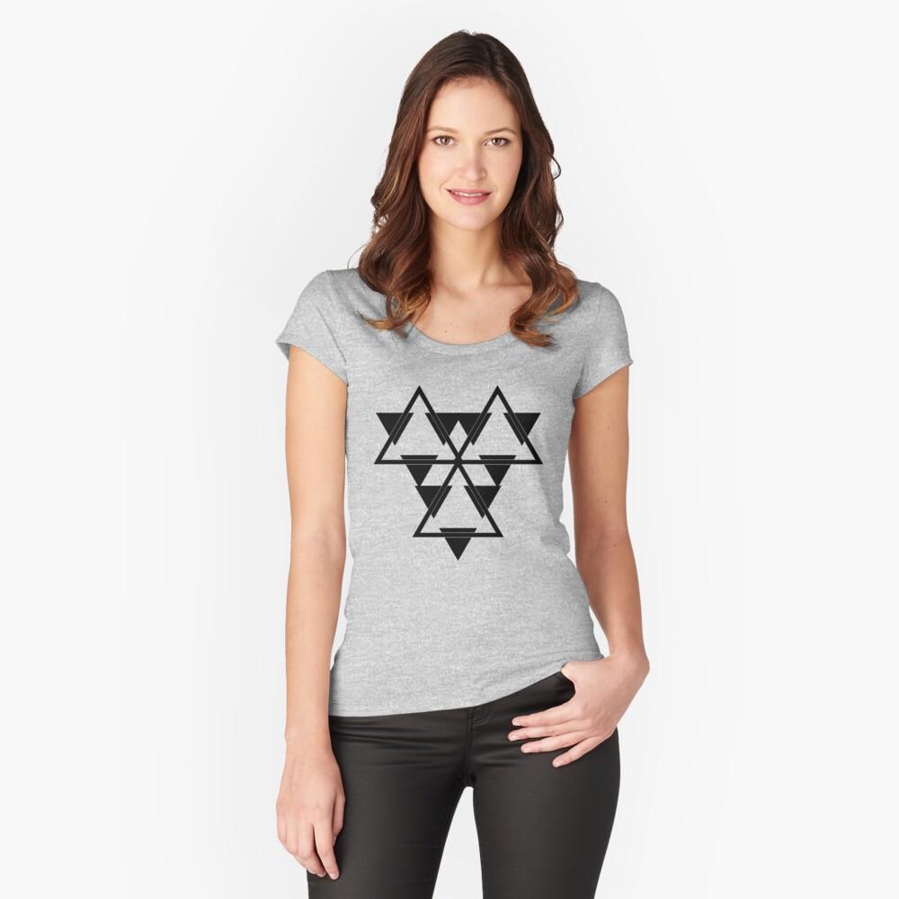 Battlestar Women's Fitted Scoop T-Shirt Front