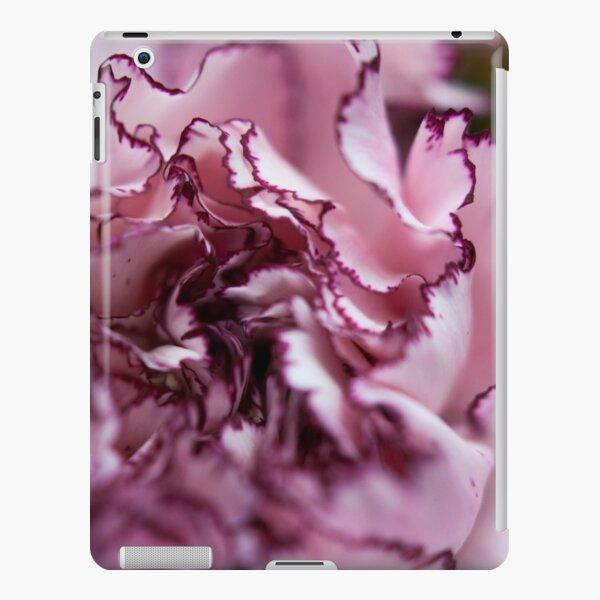Purple-Edged Carnation iPad Snap Case