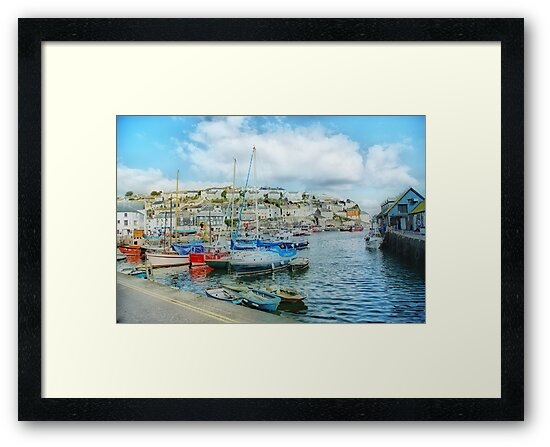 Mevagissey in Orton by Catherine Hamilton-Veal  ©