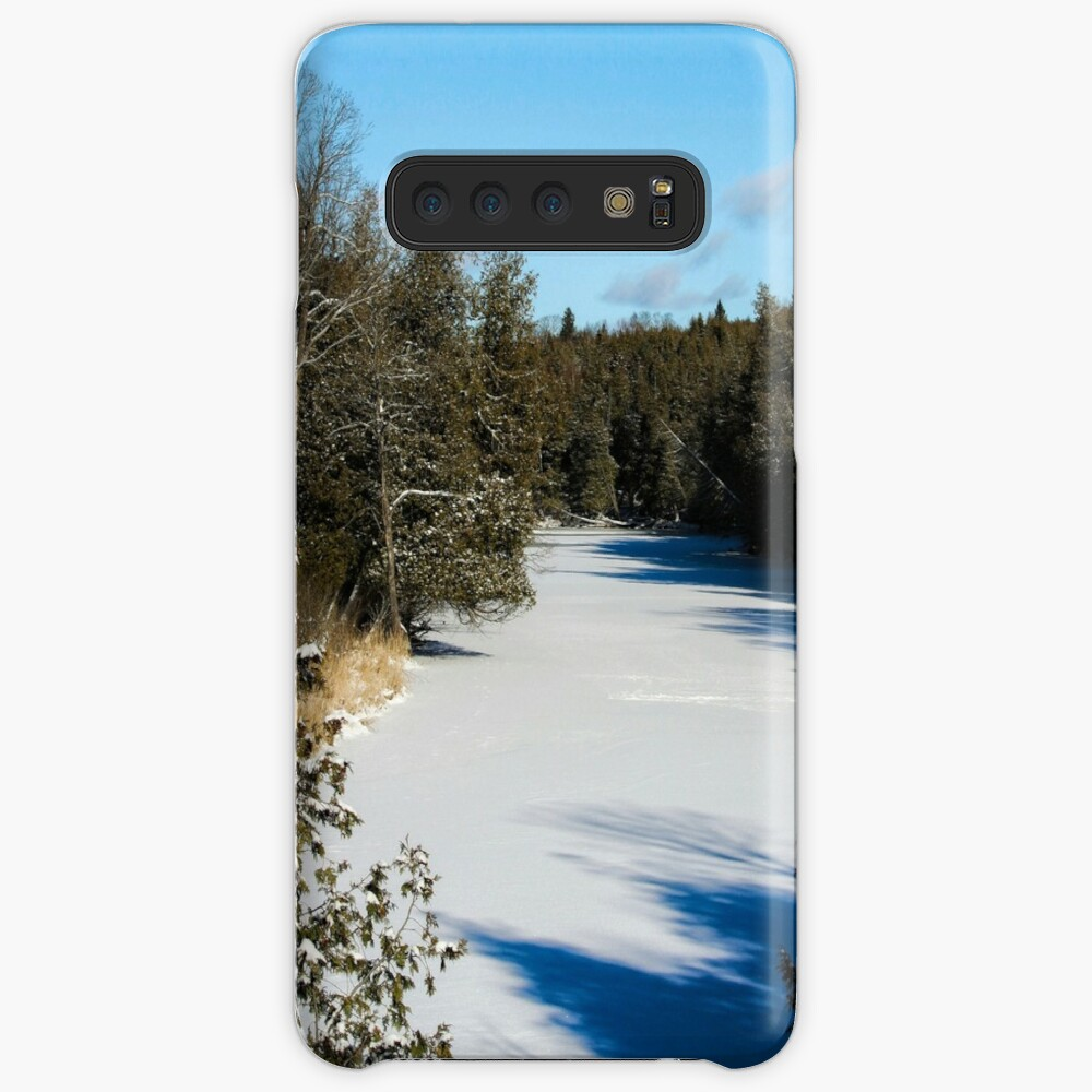 Winter riverview Case & Skin for Samsung Galaxy