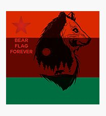 Bear Flag Forever 2 Photographic Print