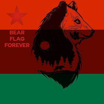 Bear Flag Forever 2 by extortion-com