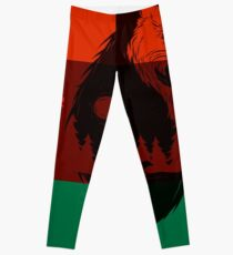 Bear Flag Forever 2 Leggings
