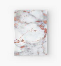 Rose Marble Hardcover Journal