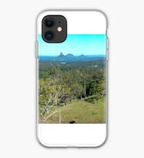 Glasshouse Mountains iPhone Case