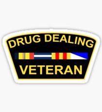 Drug Dealing Veteran Sticker