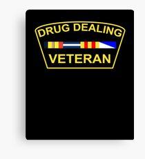 Drug Dealing Veteran Canvas Print
