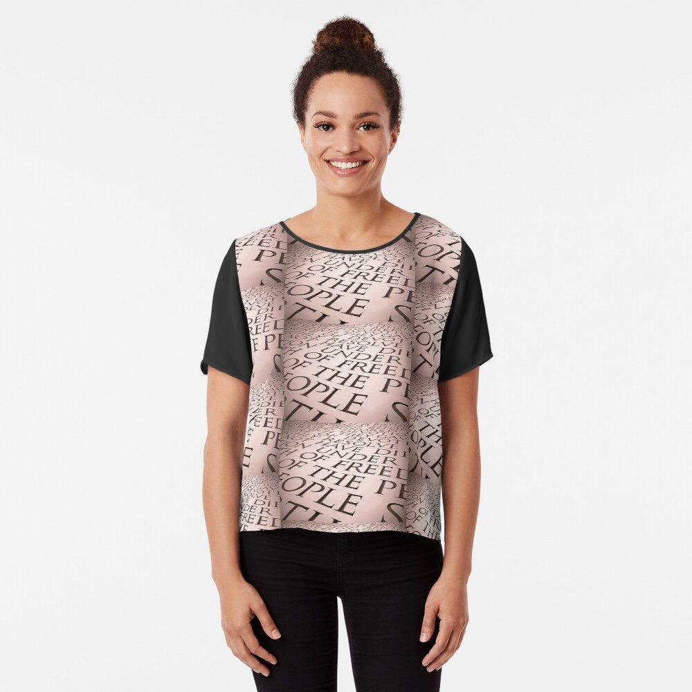 Of By For Chiffon Top