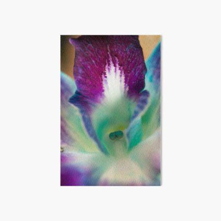 Bright Orchid Art Board Print