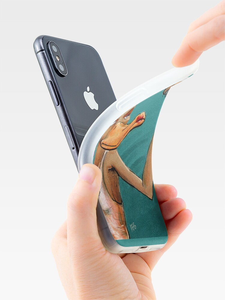 Alternate view of Duck Face iPhone Case & Cover
