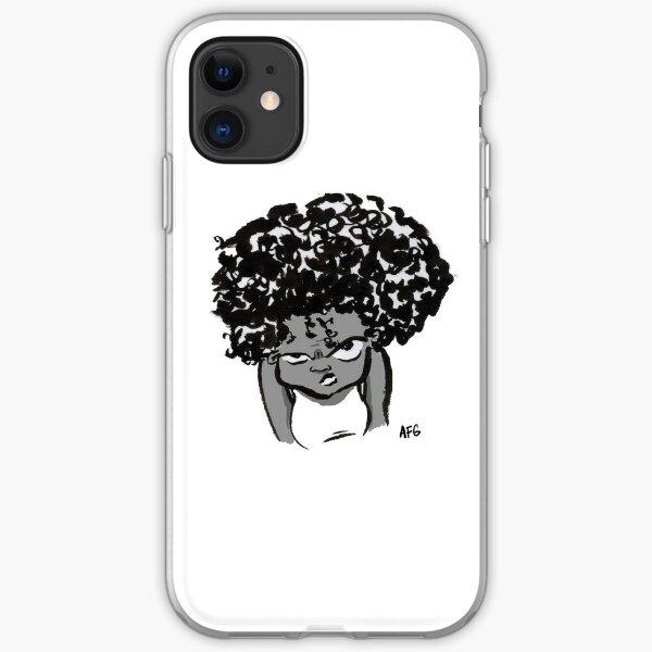 Annoyed Little Girl iPhone Soft Case