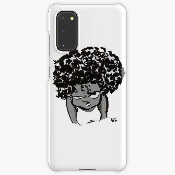Annoyed Little Girl Samsung Galaxy Snap Case